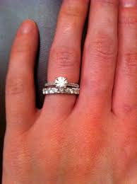 what to do with wedding ring how do wedding rings go do these rings go together help
