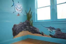children s mural painter in toronto i up the wall i muralist i kids under the sea mural
