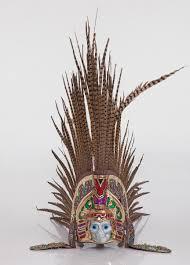 imagenes penachos aztecas penacho para danza azteca 2 600 00 en mercado libre
