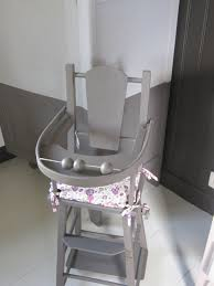 chaise haute poup e le loup à la vanille chaise haute pour poupée