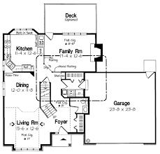 Kitchen Window Seat House Plan Hunters Kitchen Window House Plans