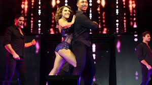 dwts light up the night tour dwts light up the night tour jenna male pros youtube