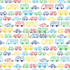 cars wrapping paper seamless doodles cars background vector black and white background