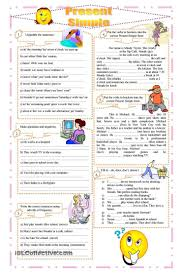 Beginner French Worksheets 61 Best Present Simple Images On Pinterest English Grammar