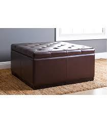 furniture tufted square ottoman square storage ottoman 48