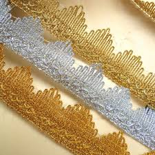 gold lace ribbon 13yards gold silver light gold lace trim lace trimmings for sewing