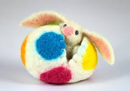 easter decorations 17 handmade needle felted easter decorations style motivation