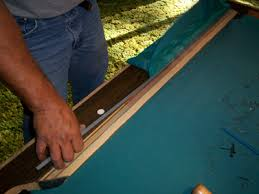 refelting a pool table replace pool table cushions and refelt