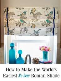 No Sew Roman Shades How To Make - how to design a faux roman shade faux roman shades roman and window