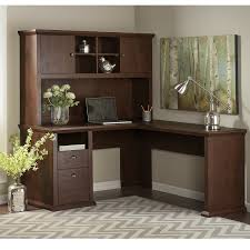 Cream Desk With Hutch L Shaped Desks You U0027ll Love Wayfair
