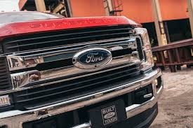 Ford Diesel Truck Radiator Cover - ford super duty is the 2017 motor trend truck of the year motor