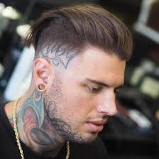 medium long haircuts for men also benwardscissorhands low taper
