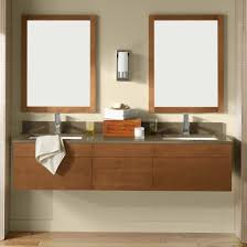 minimalist vanity minimalist design of floating vanity with cappuccino finish solid