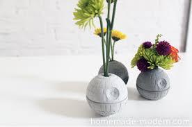 death star vase diy from homemade modern our nerd home