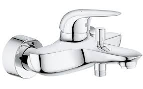 grohe eurostyle basin bath shower mixers qs supplies eurostyle wall mounted single lever bath shower mixer tap