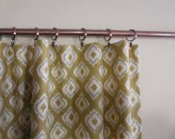 Sage Green Drapes Sage Green Ikat Curtains Ikat Drapes Pair Of Rod Pocket