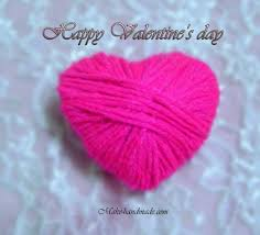 valentine crafts ideas for kids wool sweet heart make handmade