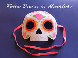 Day Of The Dead Mask Printable Kids Activities Learn And Play Day Of The Dead Pdf