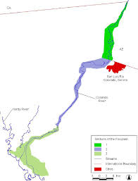 Map Of The Colorado River by Bird Conservation Plan For The Colorado River Delta Pdf Download