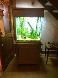 3ft fish tank stand aquarium cabinet wooden aquarium hood 55
