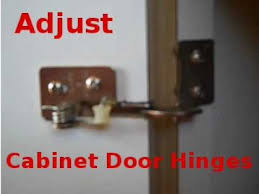 adjusting cabinet door spring hinges youtube