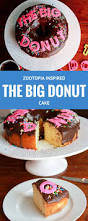 diy zootopia inspired the big donut cake recipe donut cakes