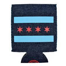 Chicago Flag Apparel Chicago Flag Denim Can Cooler U2013 Neighborly