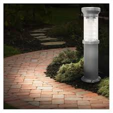 Solar Path Light Solar Bollard Lights Gama Sonic Black Solar Path Lights Set Of 2