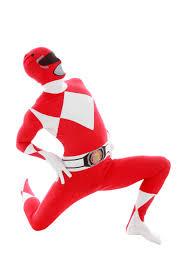 power rangers red ranger morphsuit