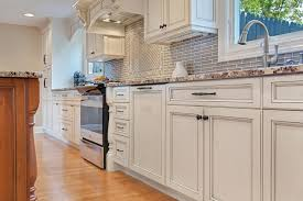 off white and cherry kitchen point pleasant new jersey by design