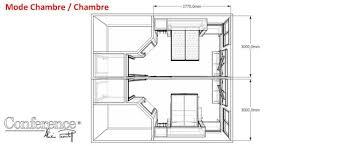plan de chambre aménagement modulaire de chambres hôtellerie restauration