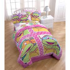 girls bedding full nickelodeon teenage mutant ninja turtles shell tastic comforter