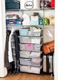 Wardrobe Organization Closet Organization Ideas A Catch All Closet Finds Its Focus