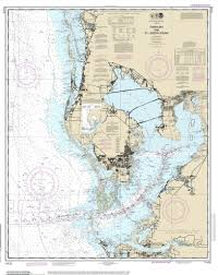 Florida Coast Map Modern Nautical Maps Of Florida 80 000 Scale Nautical Charts