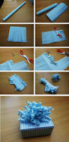 make a homemade curly bow perfect for homemade gifts all