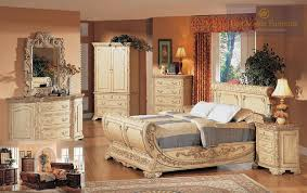 White And Beige Bedroom Furniture Add A Touch Of Antique Designs And Patterns To Your Bedroom With
