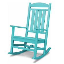 All Weather Rocking Chair Polywood Reg All Weather Presidential Rocker Home Furniture