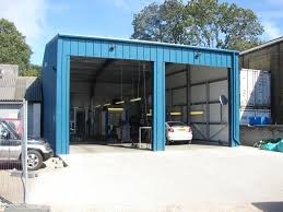 class 7 mot bay dimensions blueriver steel buildings agricultural industrial commercial