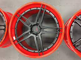 Ferrari F12 Matte Red - ferrari f12 berlinetta adv05 track spec cs concave wheels adv