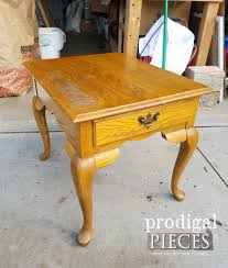 queen anne end tables queen anne table made new prodigal pieces