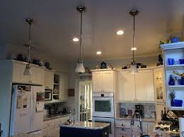 replace light fixture with recessed light replace pendants with recessed lighting