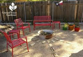 Texas Fire Pit by Fire Pit From Scavenged Tire Rim San Antonio Garden Patio