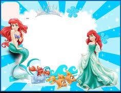 updated free printable ariel mermaid invitation