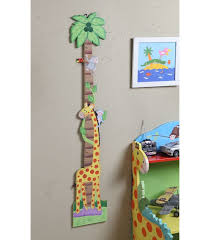 Sunny Safari Bookcase Kids Wooden Growth Chart Sunny Safari Room Collection Kids Accents