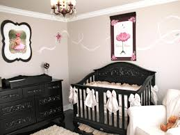 pleasing black and pink nursery elegant home decor arrangement