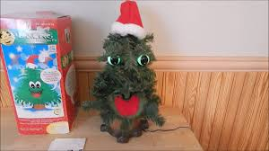 gemmy douglas fir the talking singing christmas tree 1997 youtube