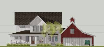 Farmhouse Elevations by Simply Elegant Home Designs Blog New Modern Farmhouse By Ron