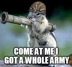 Meme Caption Maker - bazooka squirrel meme generator imgflip humor pinterest