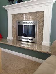 Gas Mantle Fireplace by Best 25 Granite Fireplace Ideas On Pinterest Mantle Ideas