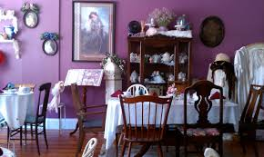 Black And Purple Dining Room House Design Ideas - Purple dining room